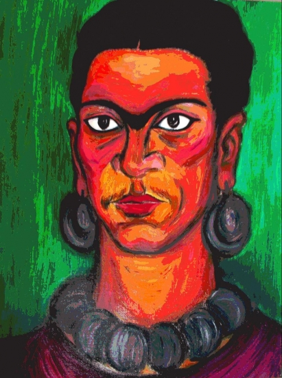 Frida Kahlo by cindymillet